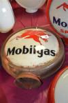 Mobilgas With Pegasus Hp Metal Globe