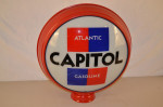 Atlantic Capitol Gasoline Hp Metal Globe