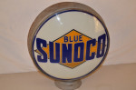 Sunoco With Logo Lp Metal Globe