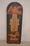 AC Brand Tin Thermometer