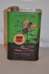 Phillips 44 Insecticide Metal Can With Paper Label