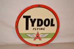 Tydol Flying A Pump Plate