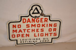 Louisiana Oil Refining Co Single-Sided Sign