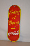 Coca-cola Single-Sided Porcelain Door Push