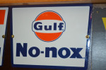 Gulf No-nox Pump Plate