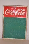 Enjoy Coca-cola Single-Sided Tin Chalkboard