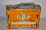 Heccolene Oils Flat Metal Can